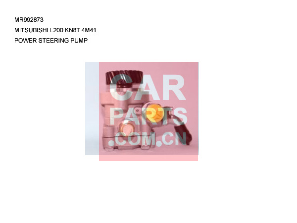 MR992873,POWER STEERING PUMP FOR MITSUBISHI L200 KN8T 4M41